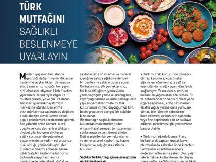 Türk Mutfağını Sağlıklı Beslenmeye Uyarlayın