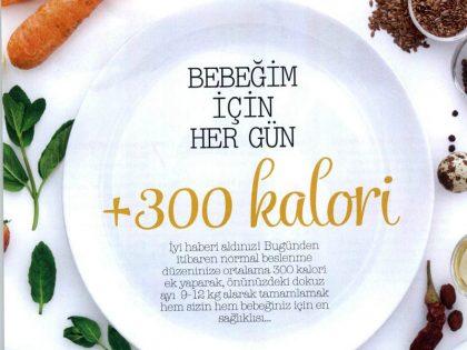 Bebeğim için Her Gün +300 Kalori